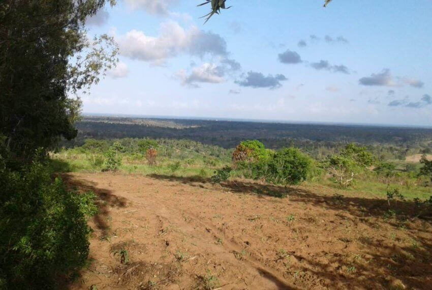 SOLD !!!! 330 acres in Shimbahills  overlooking the Indian ocean