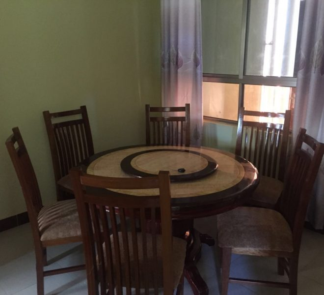 4 bedroom apartment Mtwapa Shanzu dinning room