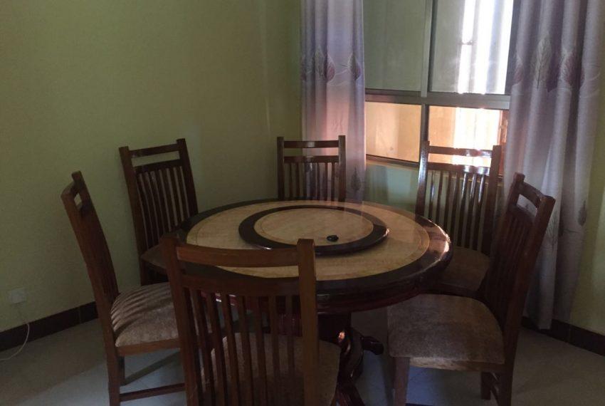 4 bedroom apartment Mtwapa Shanzu dinning room